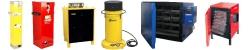 Оборудование для прокалки, подогрева и хранения электродов