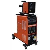 3925 сварочный полуавтомат foxweld invermig 508 с отд. мп на тележке, блок охл.