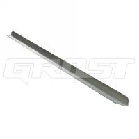 110271 выравнивающий профиль 3 м для виброрейки grost qvrm (алюминиевый)