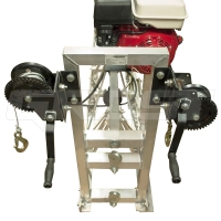 109935 головная секция 3 м виброрейки grost svr с двигателем (бензиновая секционная виброрейка)