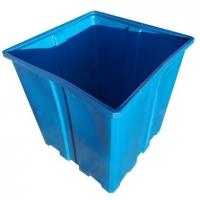 пластиковый универсальный контейнер пласто с1000 с крышкой (для строительного мусора)