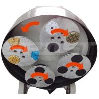 109392 мозаично-шлифовальная машина grost pmp650-3