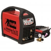 852054 сварочный аппарат telwin technology tig 222 ac/dc-hf/lift 230v+acc (для аргонодуговой сварки)