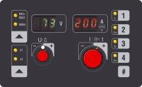 сварочный полуавтомат форсаж-200па (однофазный сварочный аппарат постоянного тока для полуавтоматической сварки и ручной дуговой сварки плавкими штучными электродами в моноблочном исполнении)