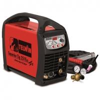 816116 сварочный аппарат telwin superior tig 251 dc-hf/lift vrd + tig acc. (для аргонодуговой сварки)