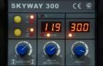14866 инверторный сварочный полуавтомат aurorapro skyway 300 (mig/mag+mma)