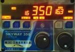 инверторный сварочный полуавтомат aurorapro skyway 350 dual pulse с воздушным охлаждением