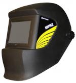 Маска сварщика FoxWeld КОРУНД черная со стеклом С5 (без светофильтра)