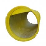 Металлический вкладыш для мусоросброса ПЛАСТО