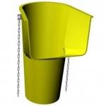 Приемная горловина (погрузочная воронка) мусороспуска ПЛАСТО (пластиковый строительный мусоросброс - рукав для сброса строительного мусора)