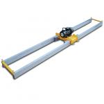 электрическая виброрейка vpk (впк) эвр 380в/3,5-6 м/100 мм двойная раздвижная (телескопическая)