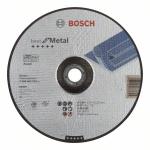 Диск обдирочный 230x6x22 BOSCH Expert for Metal выпуклый, для металла