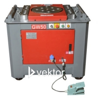 станок для гибки арматуры vektor gw50